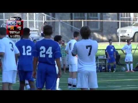 LMC Varsity Sports - Boys Soccer - Port Chester at Mamaroneck - 9/18/15