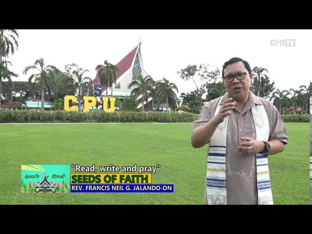 SEEDS OF FAITH EPI 131 Read, write and pray