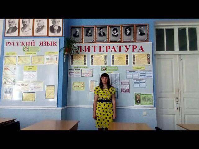 Изображение предпросмотра прочтения – ЕкатеринаАртеменко читает произведение «Мы дети проклятой войны» В.С.Тарасова