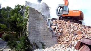Демонтаж здания(, 2014-02-24T15:00:50.000Z)