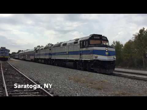 Chasing the Saratoga and North Creek fall foliage train