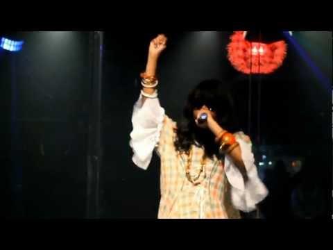 Miss Taj raps live at Chit Chat Lounge (Vol 1-2)