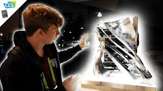 Are they building PC cases or art pieces?? Inwin at CES 2019