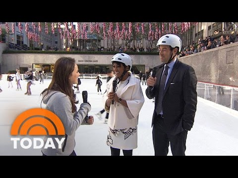 80th Rockefeller Center Skating Season Kicks Off With Lessons From Sasha Cohen | TODAY