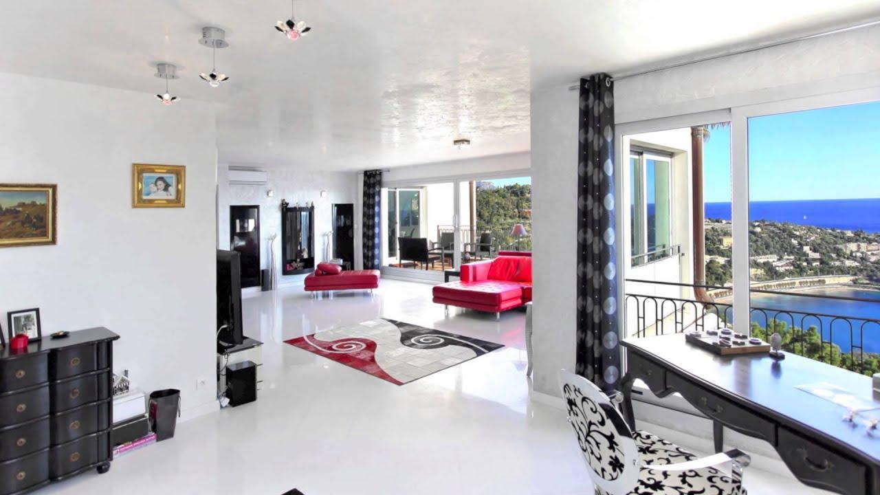 appartement vendre villefranche sur mer 06 duplex vue mer 227m2 youtube. Black Bedroom Furniture Sets. Home Design Ideas