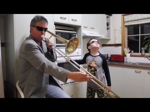 When Mom Isn't Home.....
