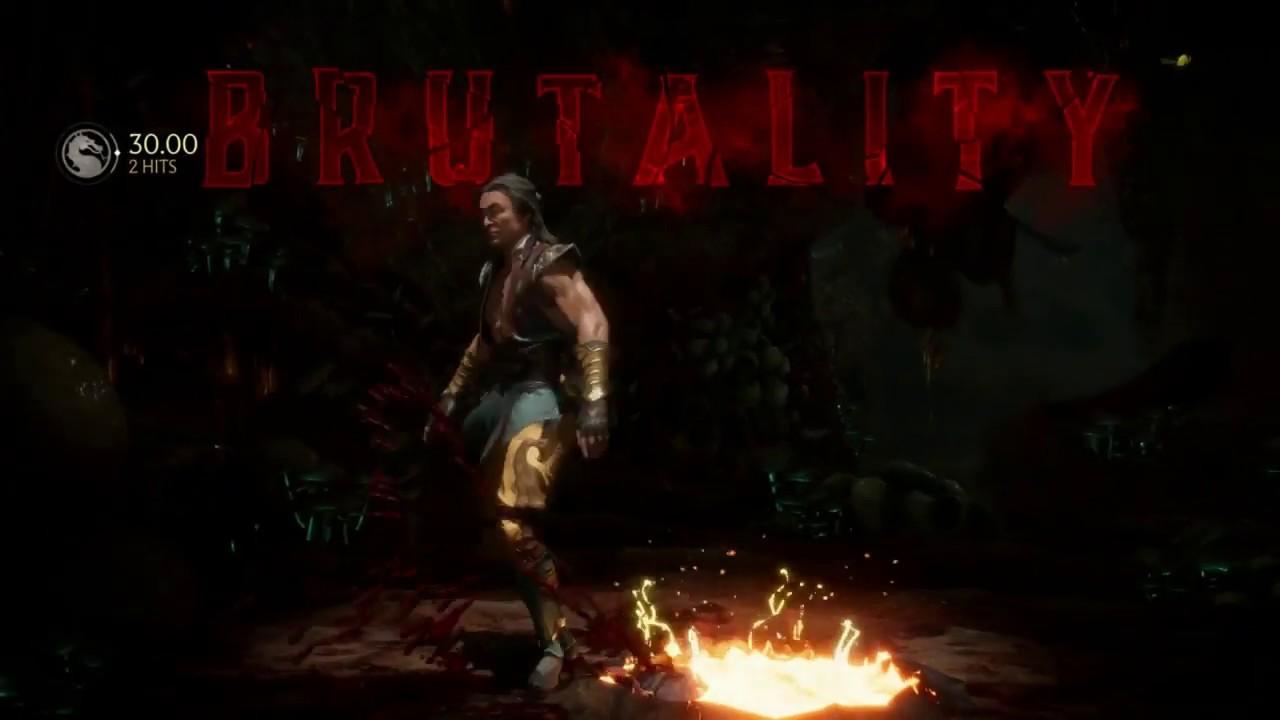 Mortal Kombat 11 - Shang Tsung Brutality & 2nd Fatality ...