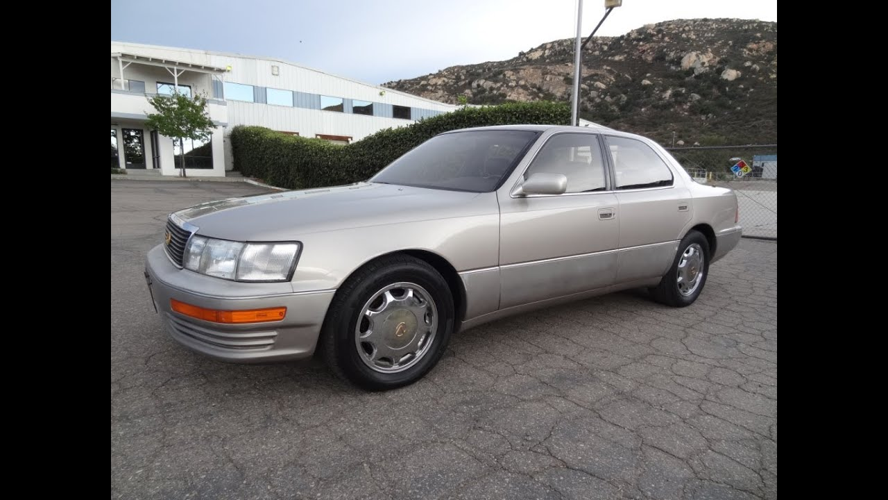 93 Lexus LS400 V8 XF10 Cheap Lite Project Car For Sale $1,450 ...
