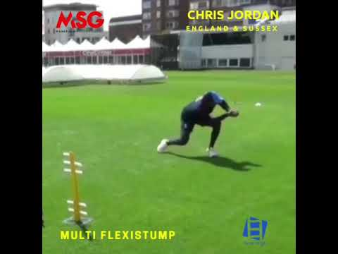 Chris Jordan training with FlexStump