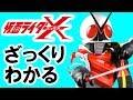 【仮面ライダーX】内容がざっくりわかる動画 の動画、YouTube動画。