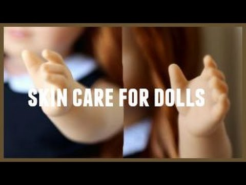 Caring For Your American Girl Doll ll Skin