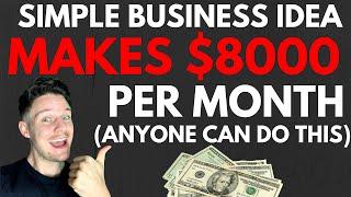 Simple Online Business Idea Makes Me $8K Per Month Profit!