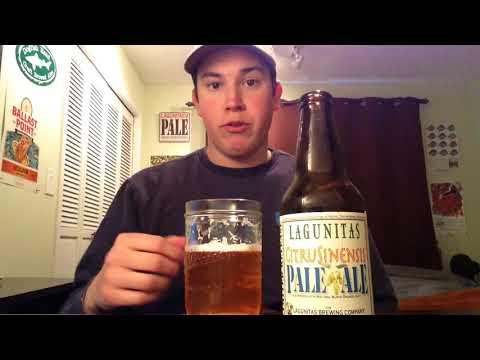 Lagunitas - CitruSinensis Pale Ale Review (2018 LIMITED RELEASE)