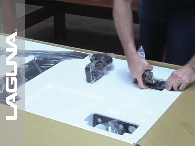 REVO 1836 Lathe Setup - Unboxing The Lathe - Part 1