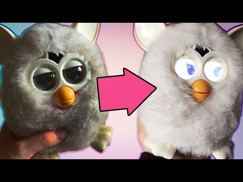 TUTORIAL | How To Skin & Wash Your 2012/2013 Furby
