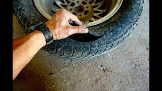 видео Ремонт боковых порезов шин