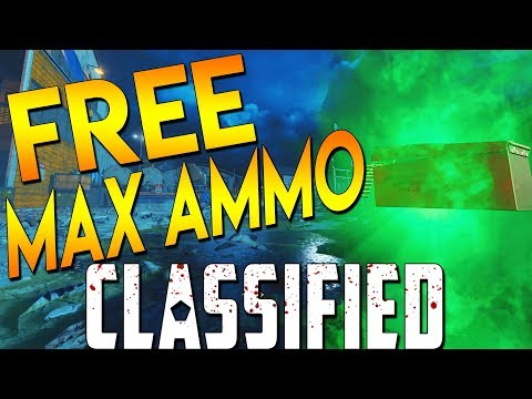6 FREE MAX AMMOS + OPEN AREA 51 - BO4 Classified Zombies