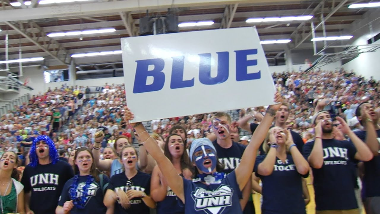 Image result for unh pep rally