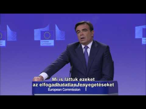 Az Európai Bizottság szóvivője megvédi a meghurcolt lengyel újságírót