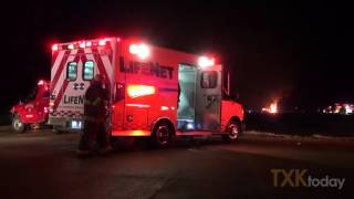 Tanker Truck Crash on 59