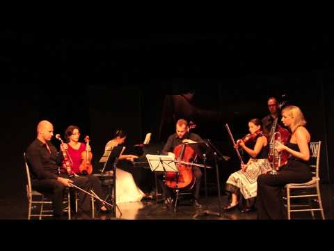 Saint-Saëns Septet for piano, trumpet, and strings, Op. 65, Chrysalis Chamber Players