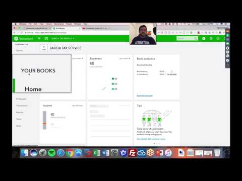 QuickBooks Online 2018 For Accountants, parts 2 and 3 - Managing Transactions in your books