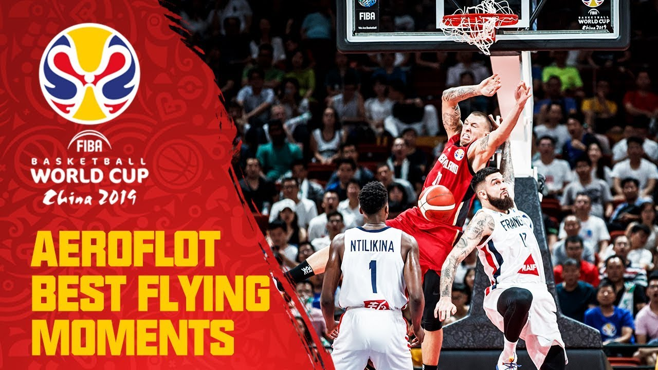 Schroder finds Theis for the crashing alley-oop dunk! | Aeroflot Best Flying Moments