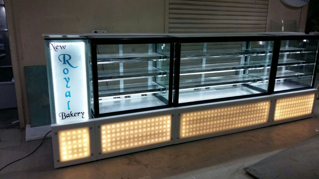 Sweet Display Counter Design Manufactured By Ak Service Food