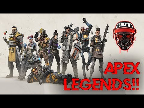 💀 ¡MI PRIMERA PARTIDA EN APEX LEGENDS! 💀