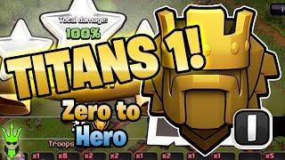 TITANS 1! - TH9 Zero to Hero Episode: 14 - Clash of Clans - Push to Legends