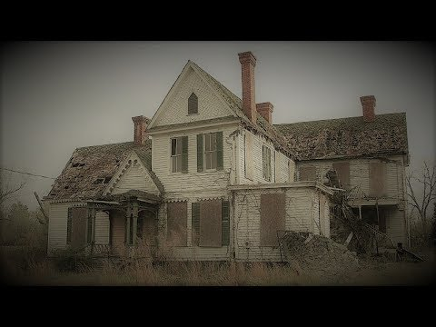 Abandoned 1800s Murder House with Everything left Behind Bloody Hand prints  Upstairs, Night Explore