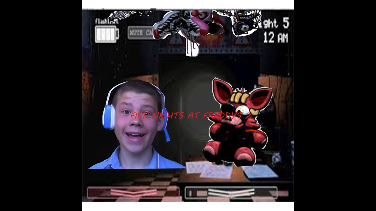 The cutest plushie of them all fnaf 2 foxy foxy challenge youtube