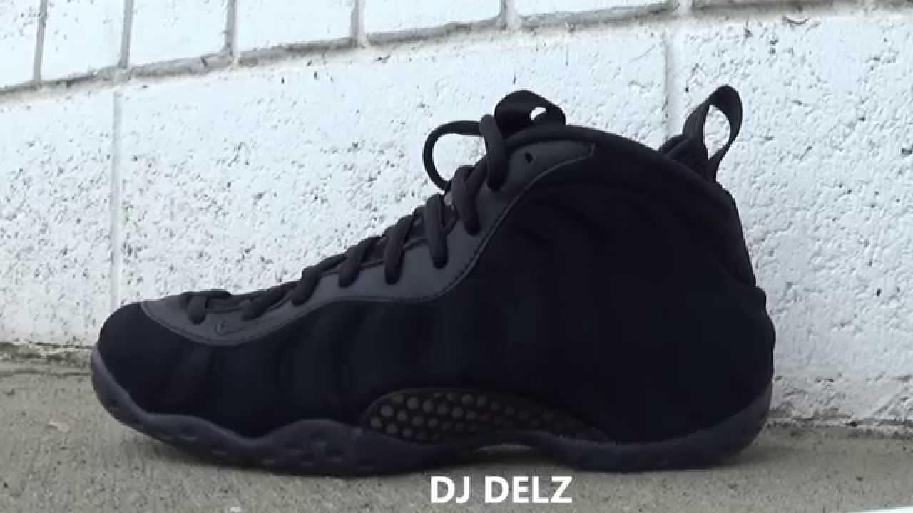 32643d3107f7 Nike Foamposite Black Suede Shoe Review HD With DJ Delz  DjDelz ...