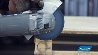 Flat cutting off wheel Angle Grinder Norton Essential-METAL INOX-115x1x22.2