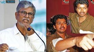 S A Chandrasekar advices Vijay to not to drink and celebrate, Instead - SAC Bold Speech