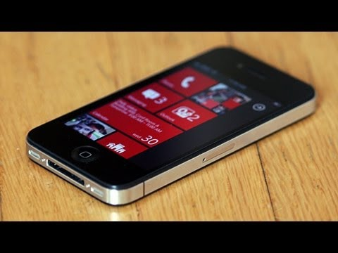 phones that look like iphone make your iphone looks like windows phone 7826