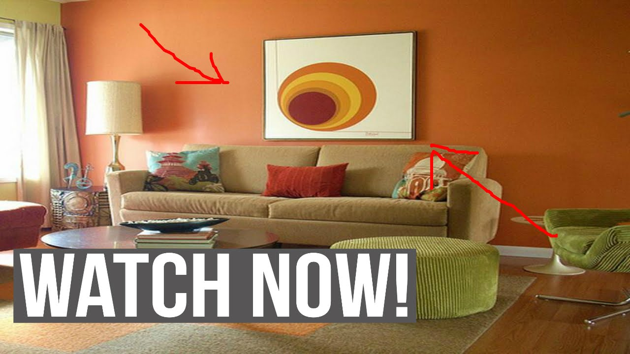 Choosing wall paint colors for living room youtube for Choosing furniture for a small living room