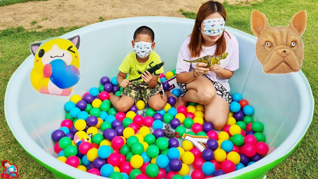 น้องบีม | หาให้เจอของในสระน้ำลูกบอล