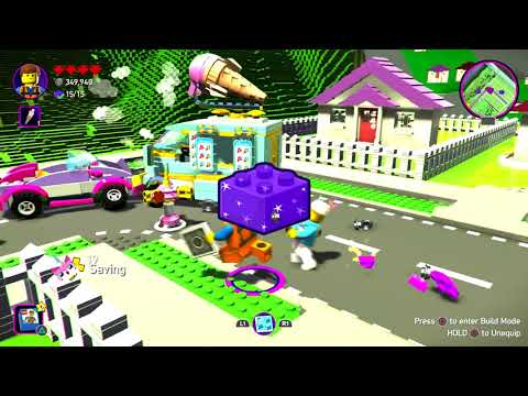 The Lego Movie 2 Part 4 Videogame Full Game PS4 PRO