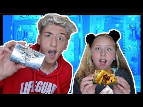 ★We Won Real Gem Stones From The Arcade Claw Machine!! GOLD & DIAMOND!?!