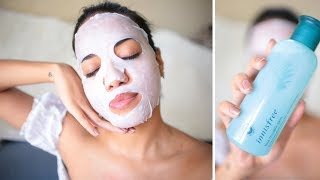 Innisfree Bija Cica Range for Sensitive & Acne Prone Skin Review