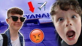 Leaving home forever *PRANK* on little brother