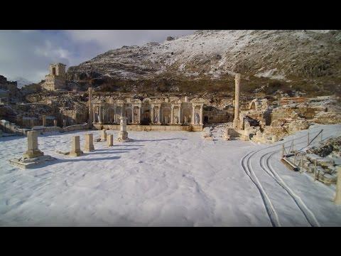 Kar altında Sagalassos - Yılmaz Akar
