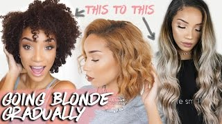 How I Went Blonde (at home!) | DIY Bleaching & Toning