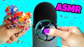 ASMR 🎙️ Relaxing Stress Ball and Fidget Spinner Sounds (No Talking)