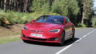 Essai - Tesla Model S restylée 2016 : le pétrole, c