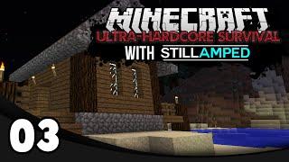 Minecraft Ultra-Hardcore Survival - Ep. 3: The Diamond Challenge!