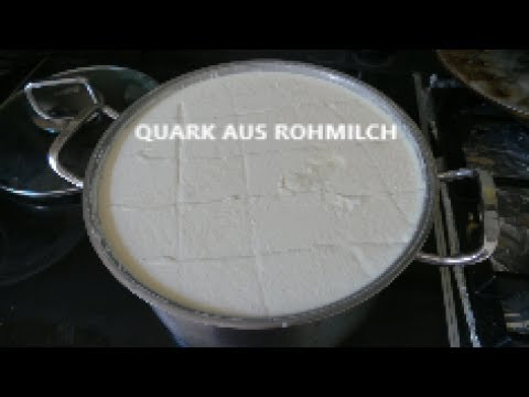Quark herstellen aus Rohmilch