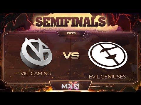 Vici Gaming vs EG vod