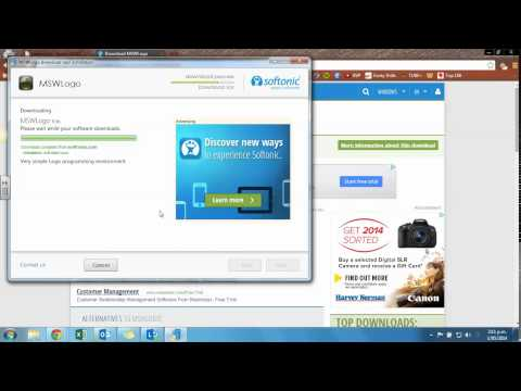 How to install MSW Logo on your Laptop/Windows machine